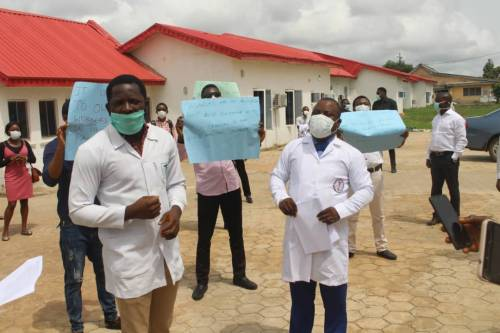 """We Are Suffering"" - Ondo Health Workers Cries Out Over Non-Payment Of 15 Months Salaries 1"
