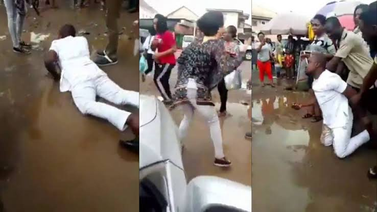 Man Weeps Profusely, Rolls In Mud As Girlfriend Rejects His Marriage Proposal In Imo [Video] 1