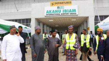 Enugu Airport Begins Operation, First Flight Lands On New Runway [Photos] 6
