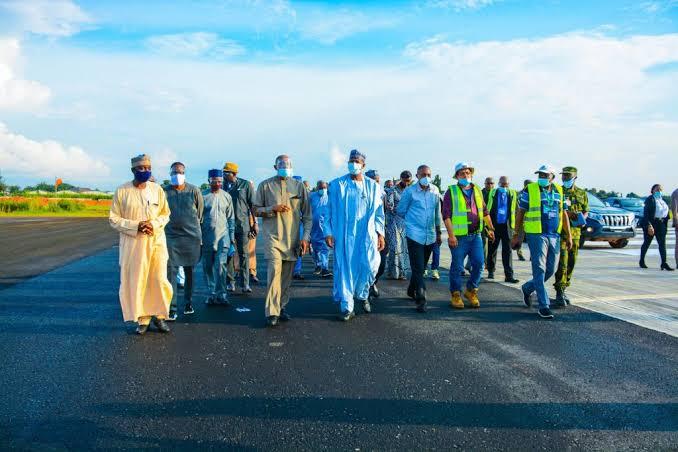 Enugu Airport Begins Operation, First Flight Lands On New Runway [Photos] 4