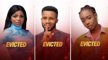 BBNaija: Tolanibaj, Wathoni And BrightO Evicted From Big Brother Naija House 3