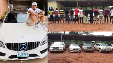 Popular Instagram Celebrity, Bitcoin Lord, 13 Others Arrested For Internet Fraud By EFCC [Photos] 5