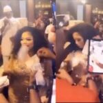 Mompha Makes It Rain With Wads Of Cash At Bobrisky's 28th Birthday Party [Video] 28