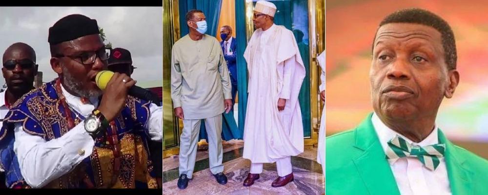 """Tell Nigerians What You Saw At Aso Rock"" - Nnamdi Kanu Challenges Pastor Adeboye 1"