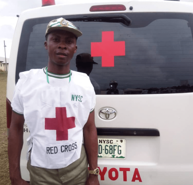 Former NYSC Corp Member Used His Allowance To Purchase Wheelchairs For Less Privileged 2