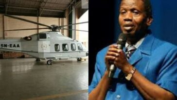 RCCG General Overseer, Pastor Adeboye Reportedly Buys New Helicopter For Evangelism 5