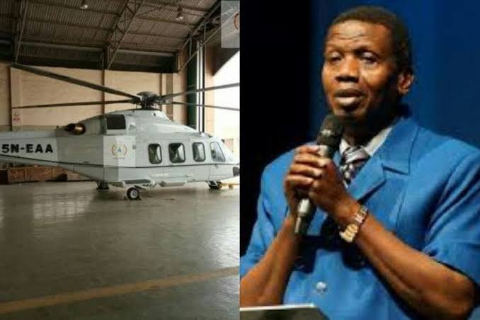 RCCG General Overseer, Pastor Adeboye Reportedly Buys New Helicopter For Evangelism 1