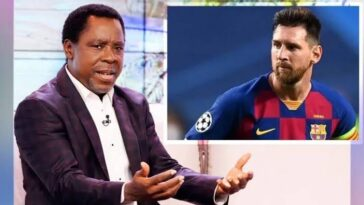 """Do Not Leave Barcelona This Summer"" - Prophet T.B Joshua Advises Lionel Messi 9"