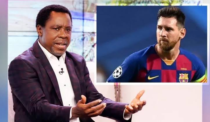 """Do Not Leave Barcelona This Summer"" - Prophet T.B Joshua Advises Lionel Messi 1"
