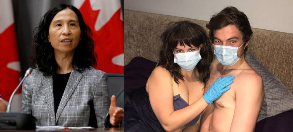 "COVID-19: ""Wear Mask When Having Sεx And Avoid Kissing"" - Canada's Top Doctor Advises 1"