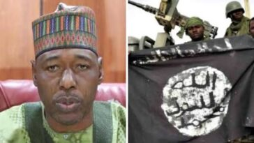 BORNO: Governor Zulum Begs Boko Haram To Cease Fire As Displaced Persons Return Home 2