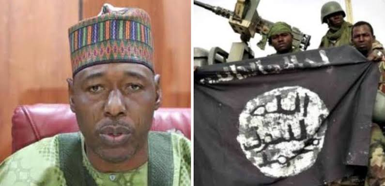 BORNO: Governor Zulum Begs Boko Haram To Cease Fire As Displaced Persons Return Home 1