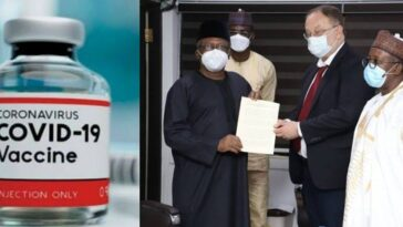 Coronavirus: Nigerian Government Receives Russia's COVID-19 Vaccine 1