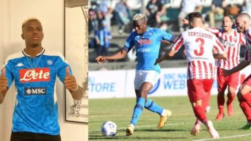 Super Eagles Striker, Victor Osimhen Scores Another Hat-Trick For Napoli [Watch Highlights] 3