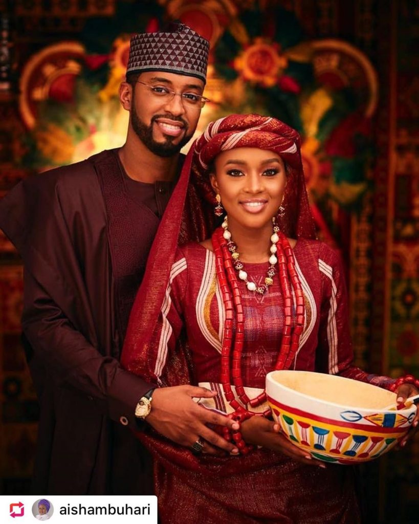 President Buhari's Daughter, Hanan Weds Mohammed Turad Sha'aban In Private Ceremony [Photos] 9