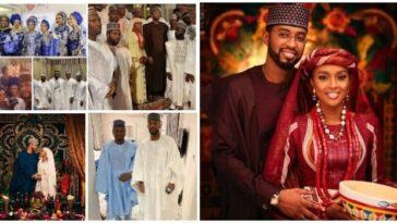 President Buhari's Daughter, Hanan Weds Mohammed Turad Sha'aban In Private Ceremony [Photos] 1