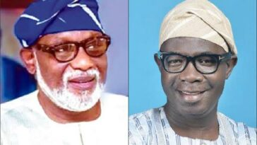 Ondo Election: Agboola Ajayi Accuses Gov Akeredolu Of Alleged Plans To Send Thugs After Him 10