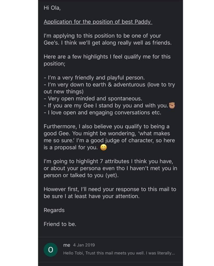 Man who applied for position of best friend through email finally marries his dream girl - See his letter plus wedding pictures 13