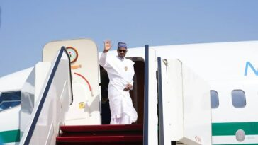 President Buhari Departs For Niger Republic, To Address ECOWAS Leaders On COVID-19 3