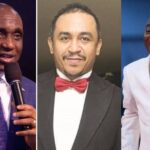 """""""You're A Bastard For Insulting Bishop Oyedepo"""" – Pastor Ibiyeomie Blasts Daddy Freeze [Video] 28"""