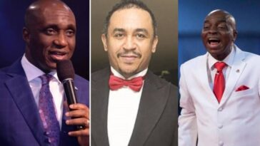 """You're A Bastard For Insulting Bishop Oyedepo"" – Pastor Ibiyeomie Blasts Daddy Freeze [Video] 11"