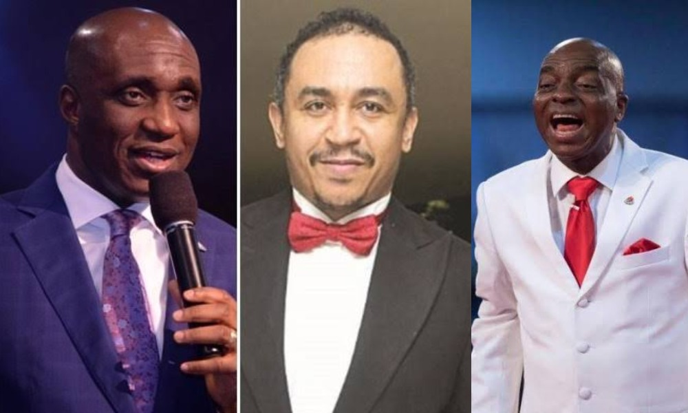 """You're A Bastard For Insulting Bishop Oyedepo"" – Pastor Ibiyeomie Blasts Daddy Freeze [Video] 1"
