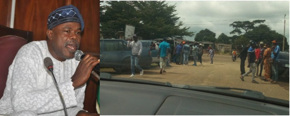 Ondo Assembly Speaker Claims 'Thugs' Who Invaded Parliament Complex Came For Prayers 1