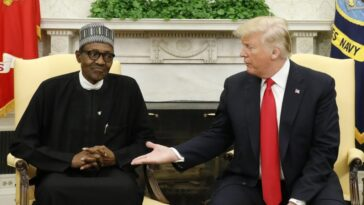 US President, Donald Trump Accused Me Of Killing Christians In Nigeria - President Buhari 6