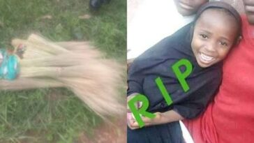 Woman Slaughters 7-Year-Old Girl For Ritual Purpose While Hawking Brooms In Plateau [Photos] 1