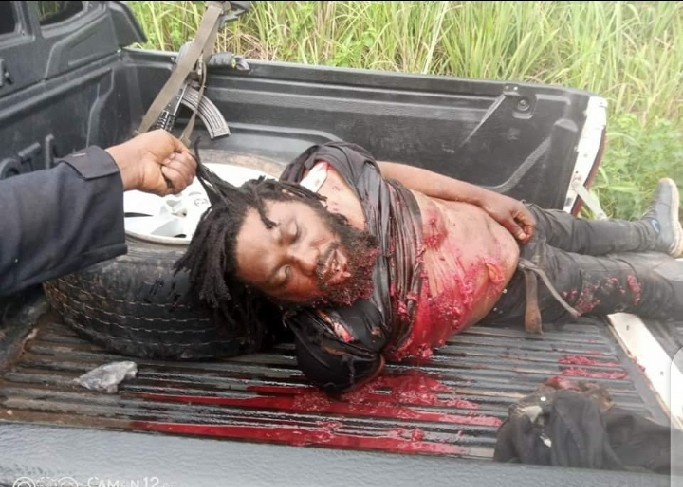 Nigerian Army Kills Benue's Most Wanted Criminal, Gana After He Surrendered To Governor Ortom 4
