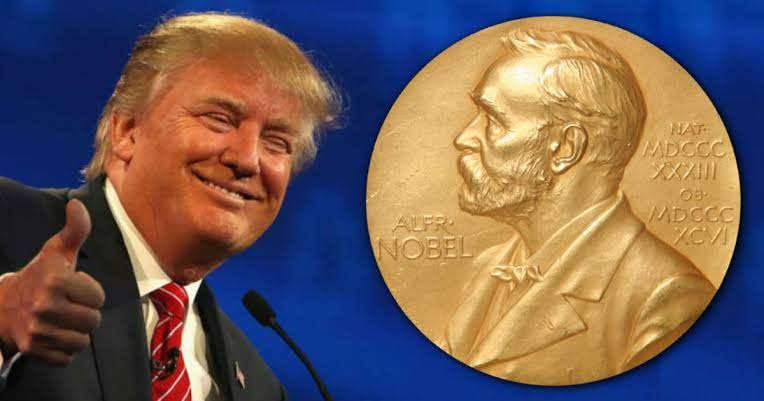 President Trump Nominated For Nobel Peace Prize After Helping To Broker Israel-UAE Peace Deal 1