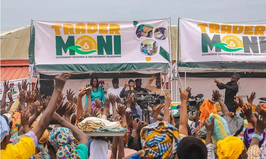 Trader Moni Beneficiaries Refuse To Pay Back Loans, Says It's Their Share Of National Cake - FG 1