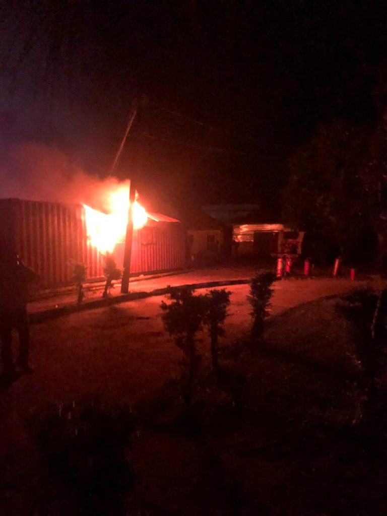 Over 5000 Card Readers Destroyed As Fire Breaks Out In Ondo INEC Office 2