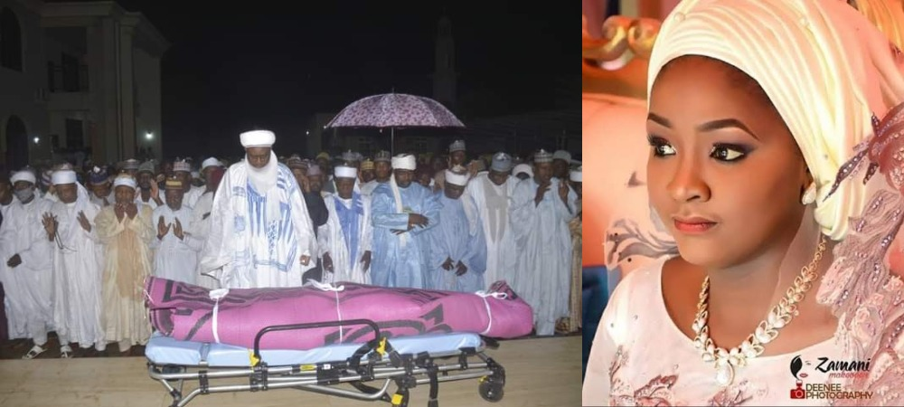 23-Year-Old Daughter Of Former Sokoto Governor, Sadiya Wamako Dies During Child Birth [Photos] 1