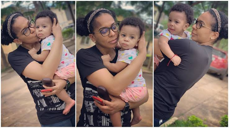 """I Had My Child Through Caesarean Section Because I Couldn't Wait To Meet Her"" - TBoss Reveals 1"