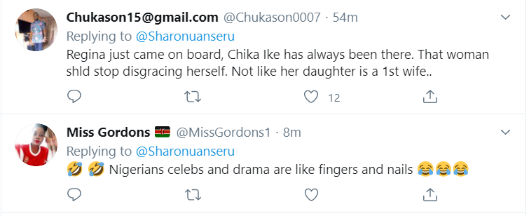 Leave Ned Nwoko For My Daughter – Regina Daniels Mother warns Actress Chika Ike to leave her daughters' husband 11