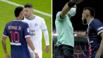 Neymar Punches Alvaro Gonzalez For Calling Him 'Monkey Motherf**ker' During PSG Defeat [Video] 10