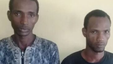 Two Herdsmen Arrested For Allegedly Robbing A Family, Gang-Rαping 16-Year-Old Daughter In Ogun 1