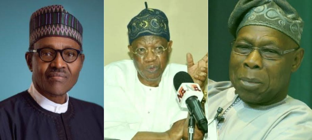 """President Buhari Saved Nigeria From Becoming A Failed State"" - Lai Mohammed Replies Obasanjo 1"