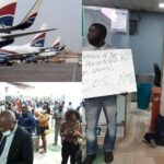 Passengers Stranded As Aviation Unions Shutdown Arik Air Operations In Lagos Over Unpaid Salaries 28