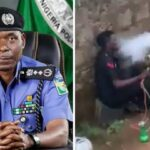 Nigerian Police Reacts After An Officer Was Caught On Camera Smoking Shisha In Public [Video] 28
