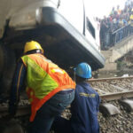 One Passenger Confirmed Dead As Bus, SUV Collides With Moving Train In Oshodi, Lagos [Photos] 28