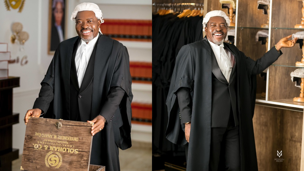 Nollywood Actor, Kanayo O. Kanayo Has Been Called To Bar, He's Now A Professional Lawyer [Photos] 1