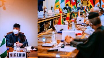 Mali Crisis: Military Coup Leaders, Yemi Osinbajo Attends ECOWAS Summit In Ghana 11