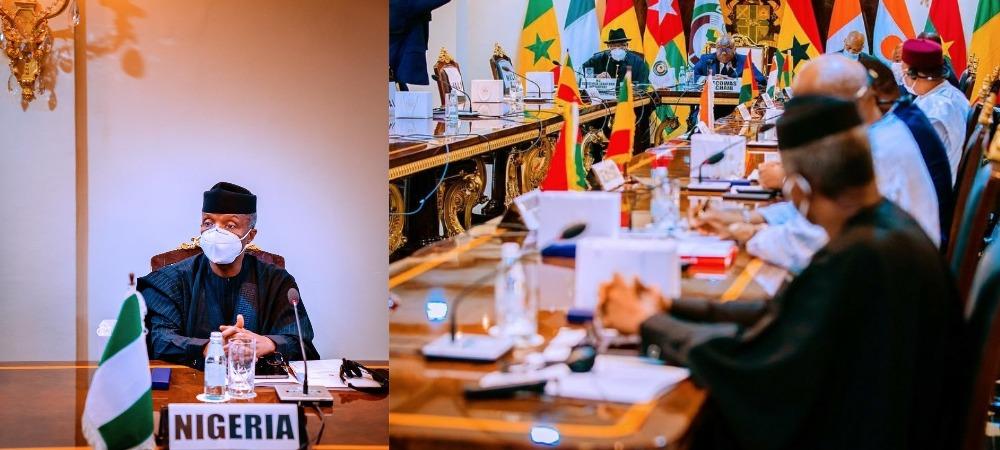 Mali Crisis: Military Coup Leaders, Yemi Osinbajo Attends ECOWAS Summit In Ghana 1