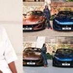 DJ Cuppy Shows Off Three Ferrari Cars Her Father, Otedola Bought For Her And Siblings [Photos] 27