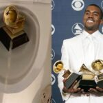 """Trust Me...I Won't Stop"" - Kanye West Says As He Urinates On His Grammy Award In The Closet [Video] 27"