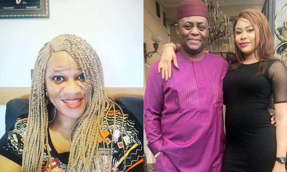 Fani-Kayode Slams Stella Dimokorkus With N2 Billion Law Suit Over News Of Split With Wife 1