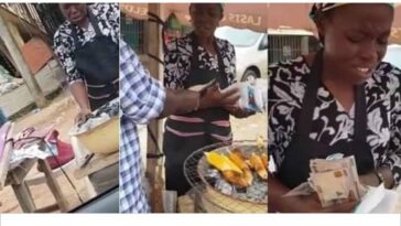 Pastor Adeboye's Son Gifts Corn Seller Money After Watching Her Pray Over Her Business [Video] 11