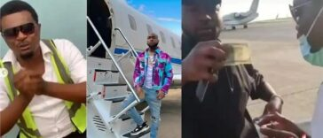 Airport Official Who Davido Gifted $100 Cries Out To Him After Getting Sacked Over Begging [Video] 24